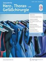 Zeitschrift für Herz-,Thorax- und Gefäßchirurgie 6/2020
