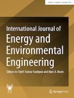 International Journal of Energy and Environmental Engineering 4/2019