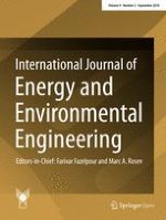 International Journal of Energy and Environmental Engineering 3/2018