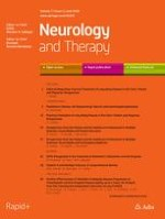 Neurology and Therapy 1/2018