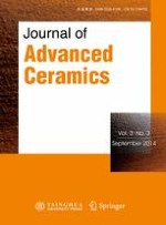 Journal of Advanced Ceramics 3/2014
