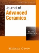 Journal of Advanced Ceramics 3/2015