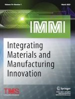 Integrating Materials and Manufacturing Innovation 1/2021