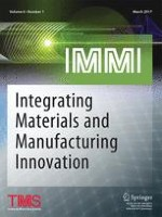 Integrating Materials and Manufacturing Innovation 1/2016