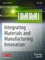Integrating Materials and Manufacturing Innovation 1/2019