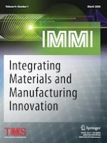 Integrating Materials and Manufacturing Innovation 1/2020