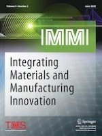 Integrating Materials and Manufacturing Innovation 2/2020