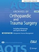 Archives of Orthopaedic and Trauma Surgery 2/2009
