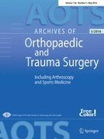 Archives of Orthopaedic and Trauma Surgery 5/2016