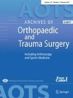 Archives of Orthopaedic and Trauma Surgery 2/2017