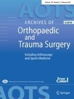 Archives of Orthopaedic and Trauma Surgery 2/2018