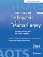 Archives of Orthopaedic and Trauma Surgery 5/2020