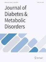 Journal of Diabetes & Metabolic Disorders 1/2019