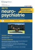 neuropsychiatrie 2/2013
