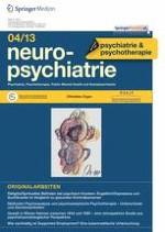 neuropsychiatrie 4/2013