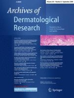 Archives of Dermatological Research 8/2009