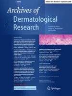 Archives of Dermatological Research 9/2009