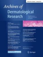 Archives of Dermatological Research 1/2012