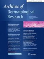 Archives of Dermatological Research 2/2012