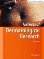 Archives of Dermatological Research 9/2018