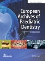 European Archives of Paediatric Dentistry 1/2013