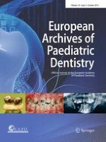 European Archives of Paediatric Dentistry 5/2013