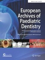 European Archives of Paediatric Dentistry 3/2015