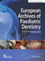 European Archives of Paediatric Dentistry 6/2017