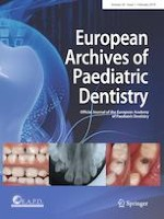 European Archives of Paediatric Dentistry 1/2019