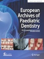 European Archives of Paediatric Dentistry 6/2019
