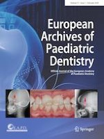 European Archives of Paediatric Dentistry 1/2020