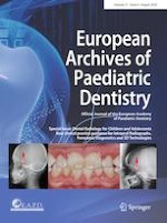 European Archives of Paediatric Dentistry 4/2020