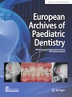 European Archives of Paediatric Dentistry 6/2020