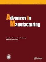Advances in Manufacturing 1/2019