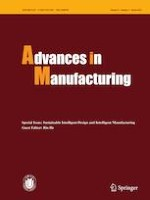 Advances in Manufacturing 1/2021