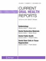 Current Oral Health Reports 4/2018