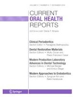 Current Oral Health Reports 4/2019