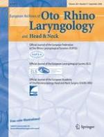 European Archives of Oto-Rhino-Laryngology 9/2006