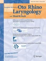 European Archives of Oto-Rhino-Laryngology 2/2009
