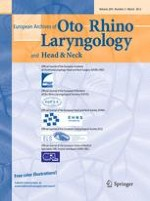 European Archives of Oto-Rhino-Laryngology 3/2012