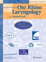 European Archives of Oto-Rhino-Laryngology 11/2015