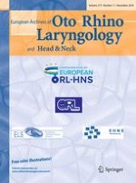 European Archives of Oto-Rhino-Laryngology 11/2016