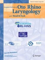 European Archives of Oto-Rhino-Laryngology 8/2018