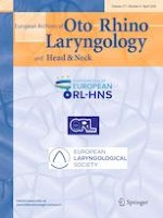 European Archives of Oto-Rhino-Laryngology 4/2020