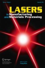 Lasers in Manufacturing and Materials Processing 3/2015