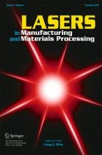 Lasers in Manufacturing and Materials Processing 4/2018