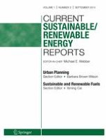 Current Sustainable/Renewable Energy Reports 3/2014