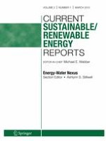 Current Sustainable/Renewable Energy Reports 1/2015