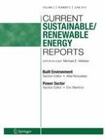 Current Sustainable/Renewable Energy Reports 2/2015
