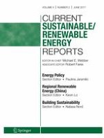 Current Sustainable/Renewable Energy Reports 2/2017